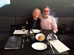 Photo of Linda Gibson and Roy Shanker '70